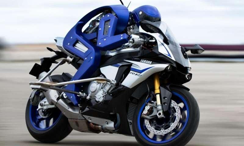 Yamaha MotoBot snimljen na Tokyo Moto Show 2015