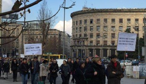 protest naučnika