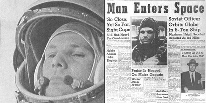 Gagarin jubilej NASA