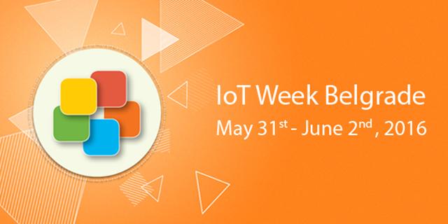 IoT Week 2016 Belgrade
