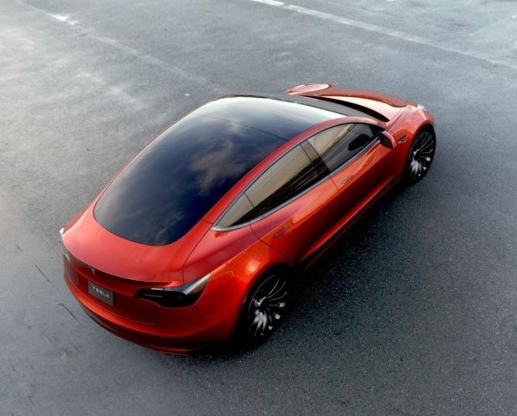 Tesla model 3 c