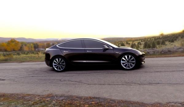 Tesla model 3 d