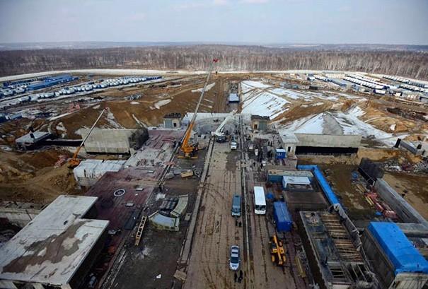 Kosmodrom Vostochny - foto: siberiantimes.com