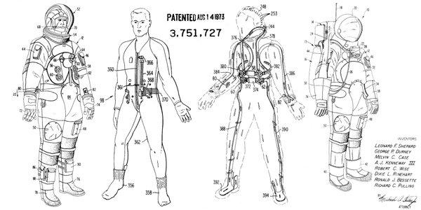 NASA suit patent
