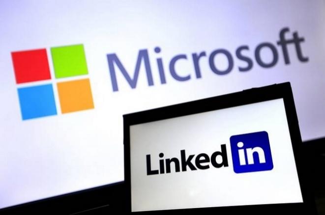 Microsoft LinkeIN logo