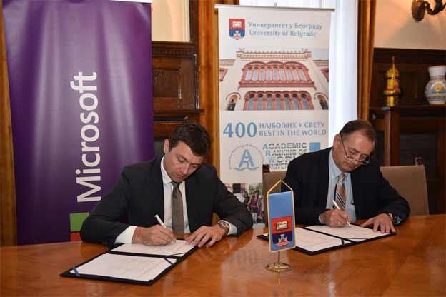 Microsoft i BU ugovor