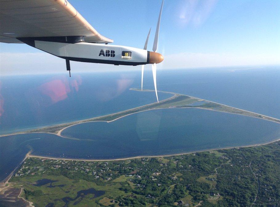 Solar impulse 2 u letu ka Evropi