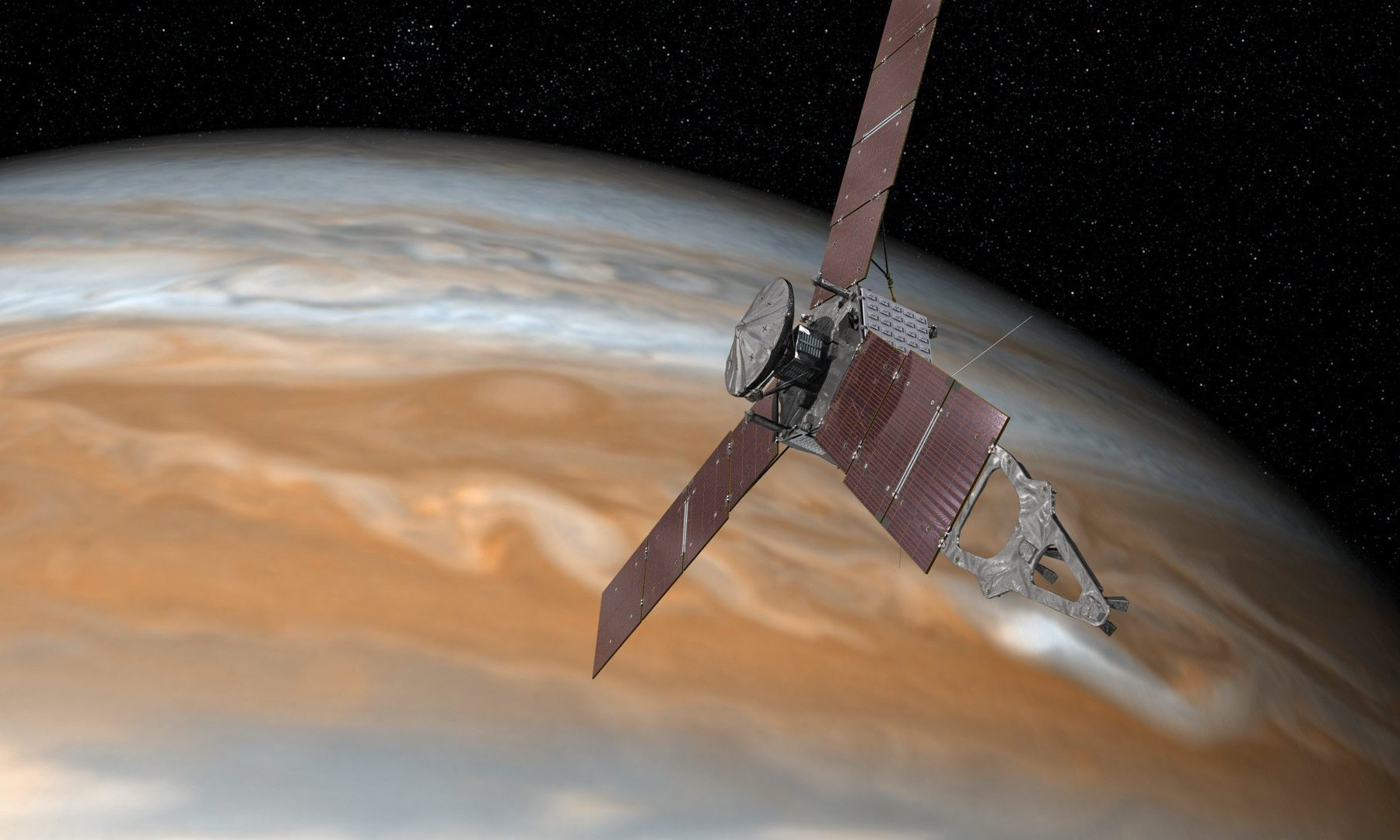 Svemirska sonda Junona - foto ESA