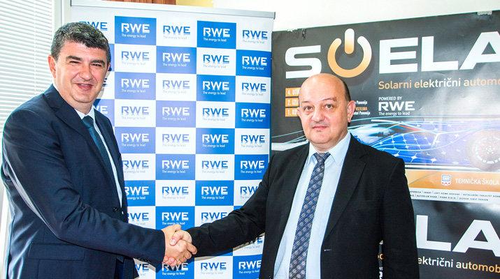 trka solarnih automobila Sisak RWE 2016