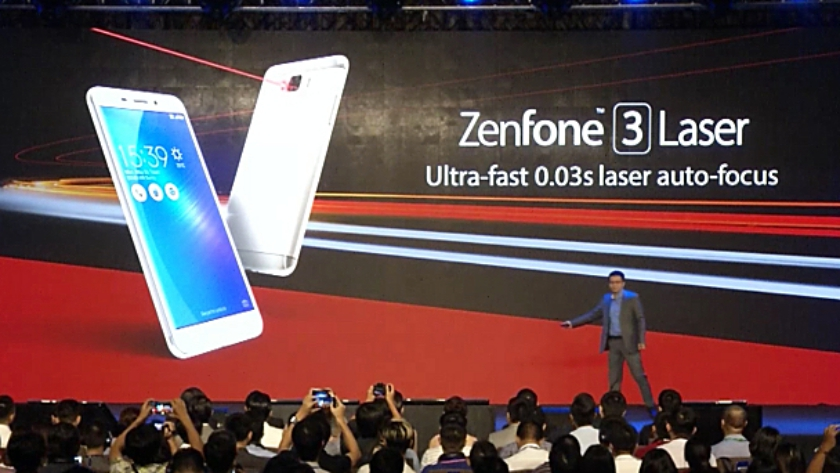 Zenfone-3-Laser announcement