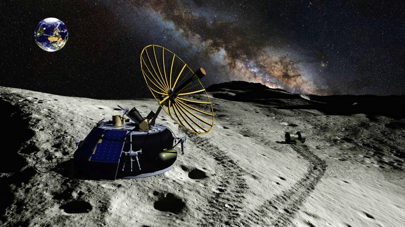 Moon Express - ilustracija